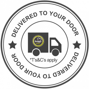 (Insert) Doggy Chef We Deliver Badge Transparent (1024 x 1024)